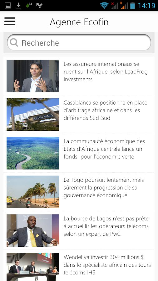 Agence Ecofin- screenshot