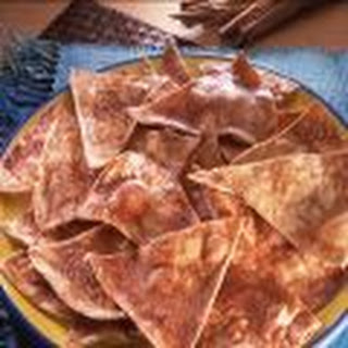 Sweet Spiced Tortilla Chips