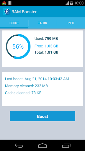 RAM Booster Mem. Optimizer