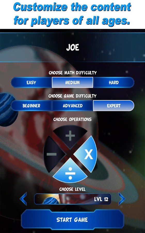 Math Evolve: A Fun Math Game - screenshot