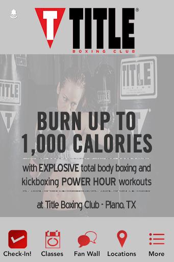 TITLE Boxing Club Plano