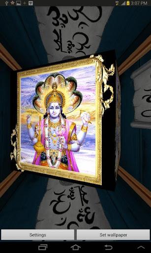 3D Lord Vishnu Live Wallpaper 2.3 screenshots 6
