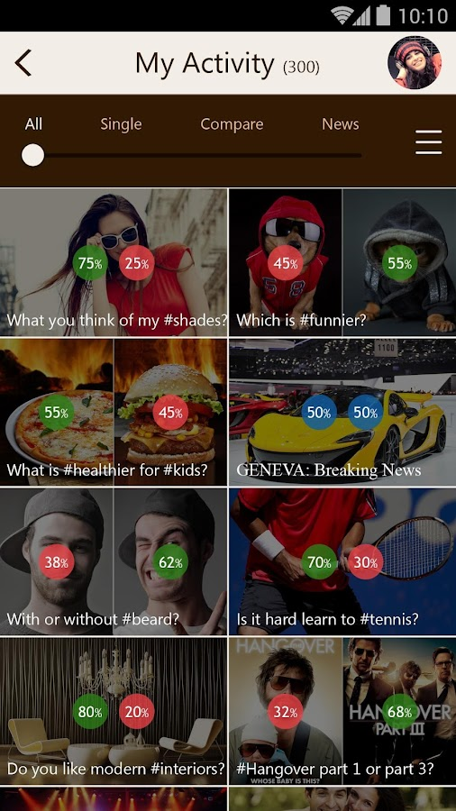 Hammer™ - Polls, Gets Opinions- screenshot