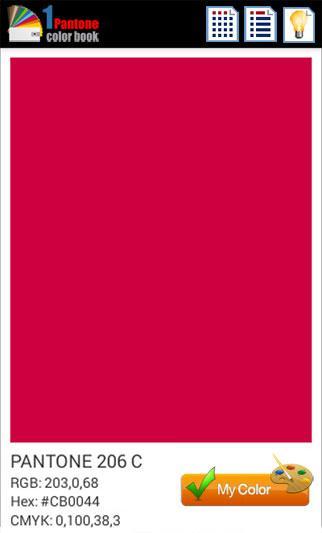 1 Pantone Color Book Apl Android Di Google Play