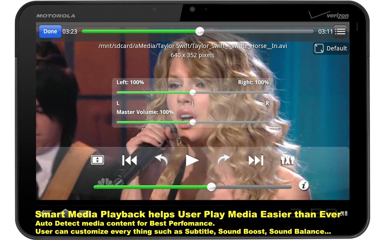 BUZZ Player - screenshot