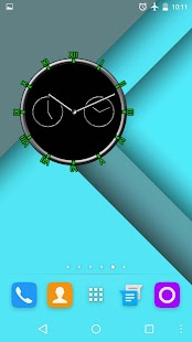 Super Clock Widget Screenshot