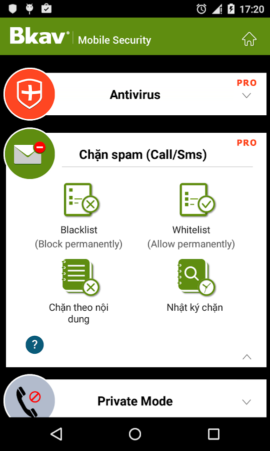 Bkav Security - Antivirus Free - screenshot