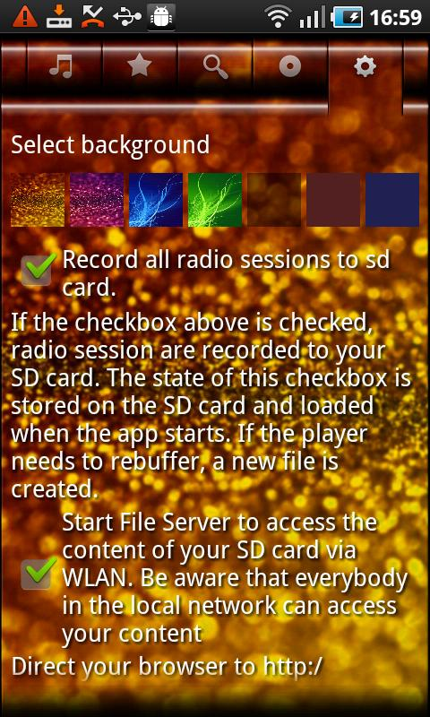 VirtualRadio- screenshot