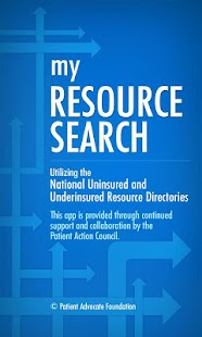 My Resource Search - screenshot thumbnail