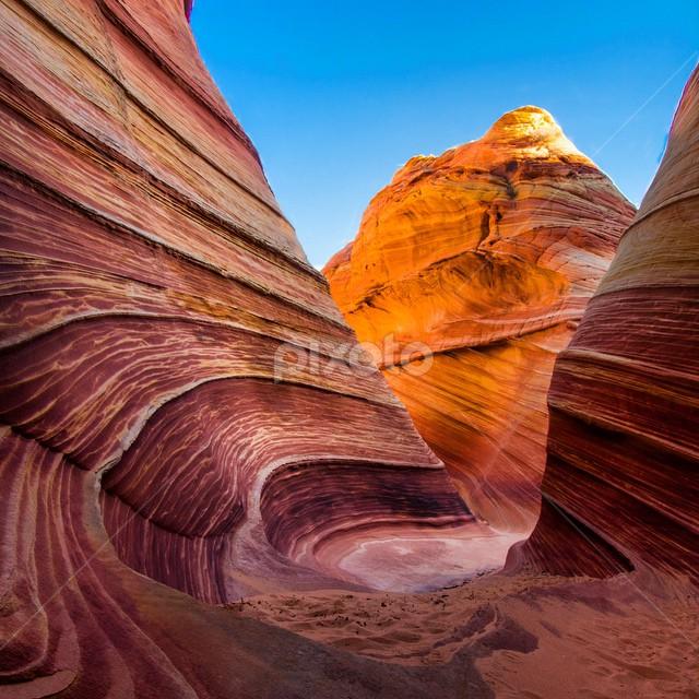 by Gabe Morrison - Landscapes Deserts ( adventure, nature, beautiful, arizona, wave, travel, landscape, hike, hiking )