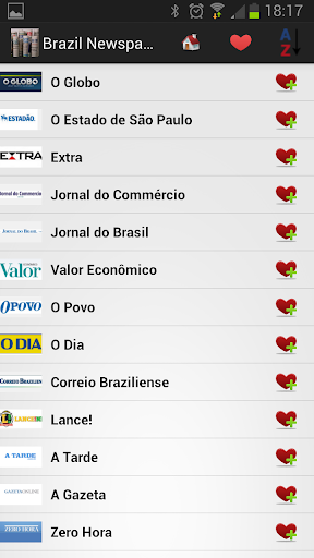 Brazil Newspapers And News