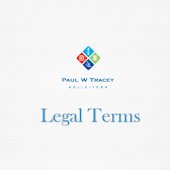 PWT Legal Terms