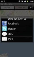 Screenshot of SMS Location