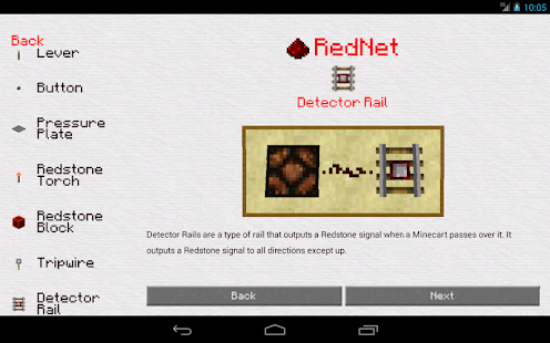 RedNet Redstone Guide - screenshot thumbnail