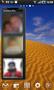Photo Contacts Widget- screenshot thumbnail