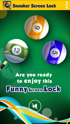 Snooker Screen Lock