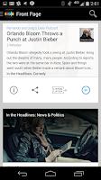 Screenshot of Stitcher Radio for Podcasts