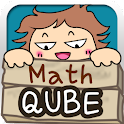 Qube – Math logo