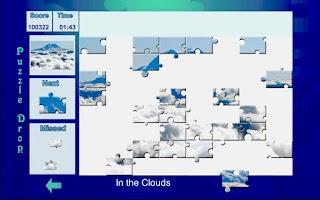 Screenshot of Puzzle Drop - Mountain Set
