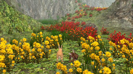 花の迷路の登山ゲーム 無料の癒やし系アプリ