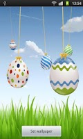 Screenshot of Easter Live Eggs Wallpaper