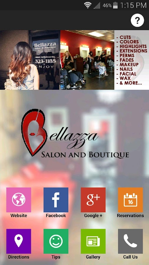 Bellazza Salon- screenshot
