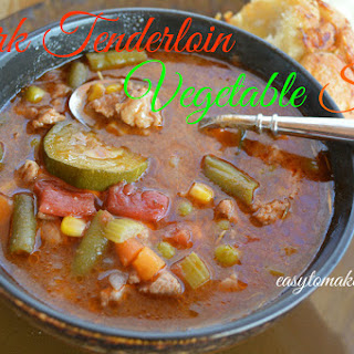 Pork Tenderloin Vegetable Stew Recipe