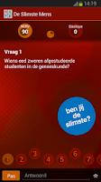Screenshot of De Slimste Mens