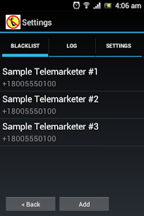 Call Blocker Plus - screenshot thumbnail