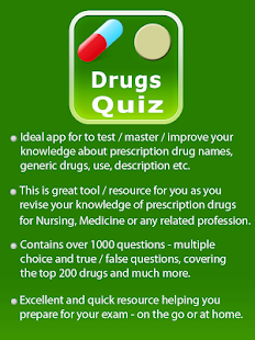 Medication Drugs Quiz- screenshot thumbnail