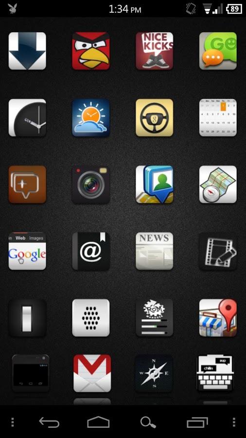 Illest Icons ADW/LPP Theme- screenshot