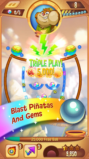 Peggle Blast  gameplay | by HackJr.Pw 5