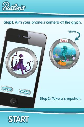 Butlins Augmented Reality- screenshot