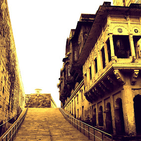 Mehrangarh fort-jodhpur-rajasthan by Tejaswa Trivedi - City,  Street & Park  Historic Districts (  )