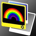 Rainbow LWP icon
