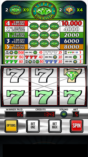 Super Emeralds Slot Machine