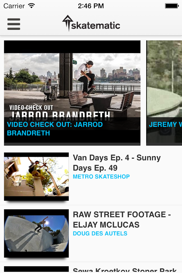 Skatematic Skateboard Videos - screenshot