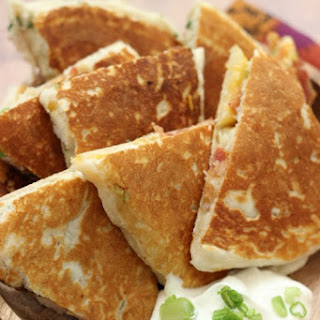 Ranch Chicken & Bacon Biscuit Quesadillas Recipe