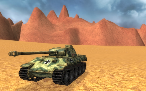Tank Driving Simulator 3D
