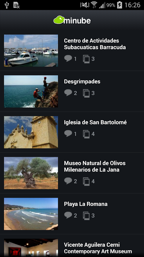 Castellón travel guide- screenshot