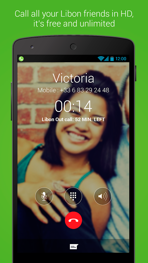 Libon – Free Calls & Voicemail - screenshot