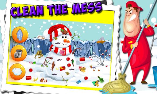 雪清理 - 清潔遊戲