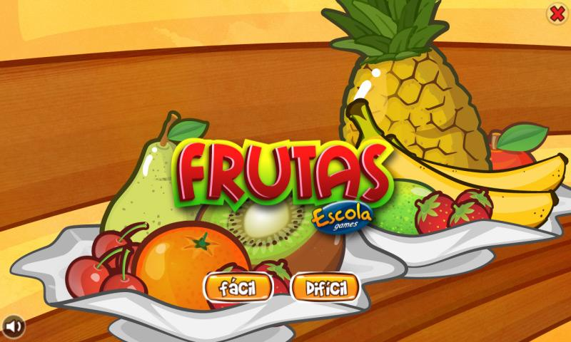 Frutas: captura de tela