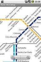 Screenshot of Rome MetroMap