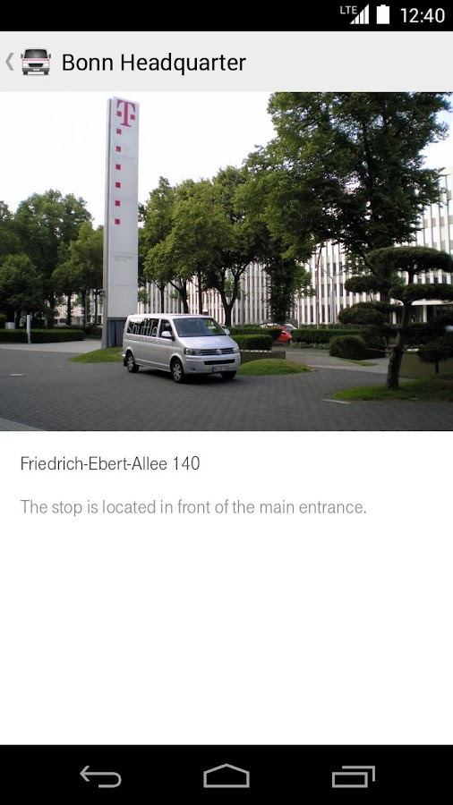 Telekom Shuttle- screenshot