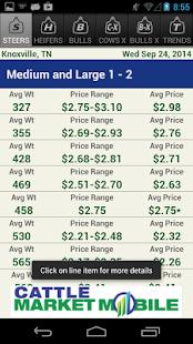 Cattle Market Mobile - screenshot thumbnail