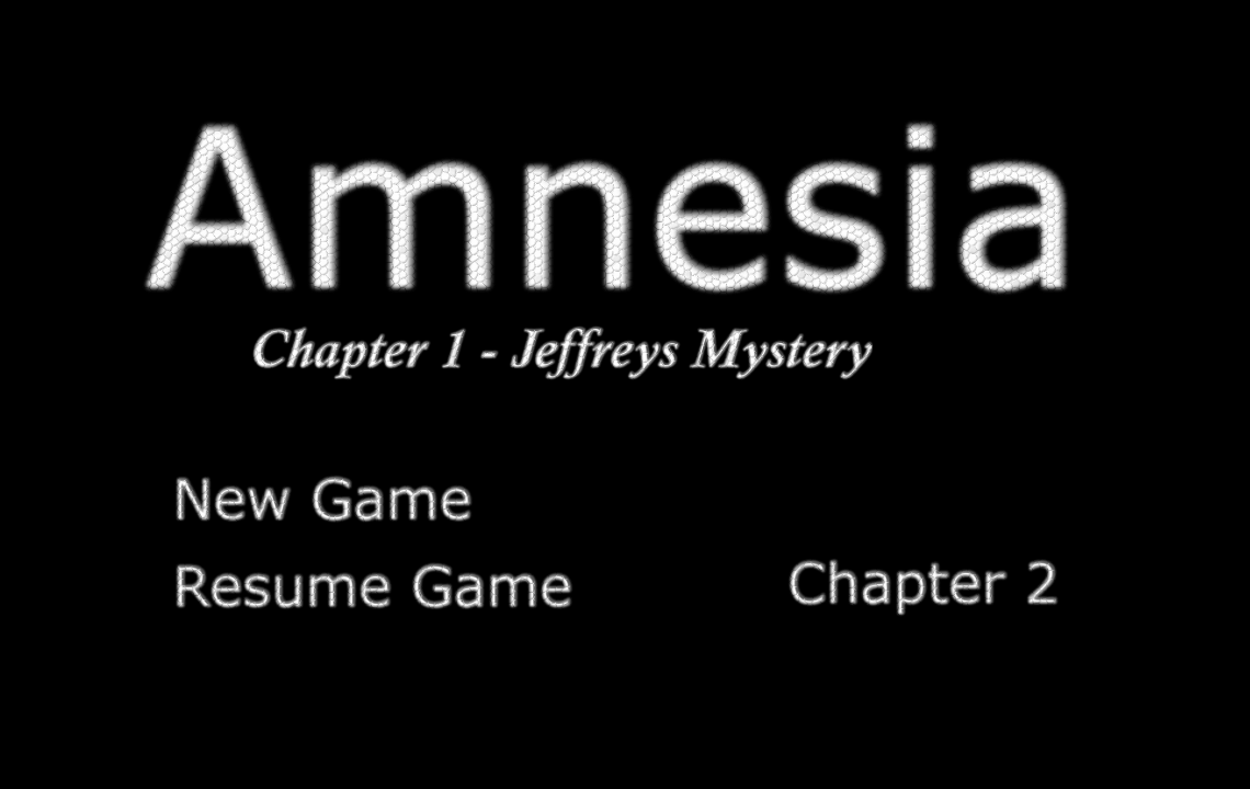 Amnesia Ch1 - Jeffreys Mystery- screenshot