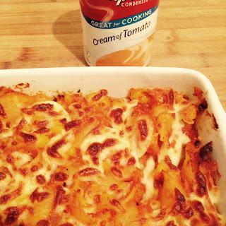 Crunchy Tuna Pasta Bake