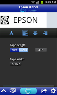 Epson iLabel - screenshot thumbnail