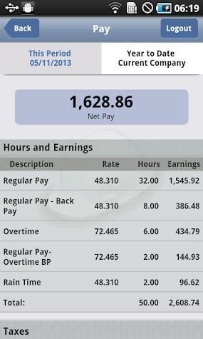 ePaystub Screenshot